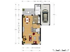 indeling u vormige woonkamer - Google zoeken | Woonkamer en overig ...