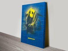 Banksy Grim Reaper   http://www.canvasprintsaustralia.net.au/product/banksy-grim-reaper-canvas-art-print-australia/