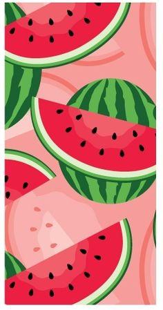 watermelon beach towel