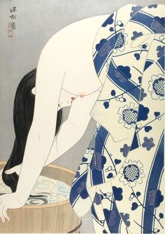 Ito Shinsui, ir (Kami), 1953 | Harvard Art Museums/ Sackler Museum