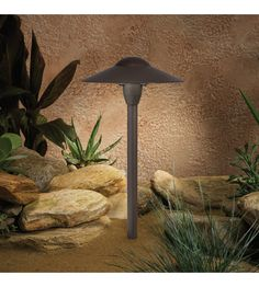 Kichler Lighting Outdoor Low Volt 1 Light Landscape 12V Path & Spread in Textured Architectural Bronze 15410AZT photo