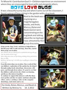 Learning Stories are pieces of written documentation that tell a story by sharing an experience, or to inform our parents of their child's growth and developme Play Based Learning, Learning Through Play, Early Learning, Early Education, Kids Education, Early Childhood Education, Creative Activities, Preschool Activities, Children Activities
