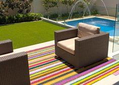 Outdoor Rug In Stripes Outdoor Area Rugs, Indoor Outdoor Carpet, Outdoor  Spaces, Outdoor