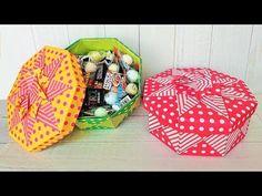 Origami Candy, Origami Gift Box, Origami Paper Folding, Cute Origami, Kids Origami, Origami Boxes, Oragami, Origami Box Tutorial, Box Maker