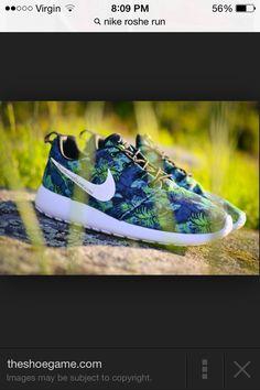 Nike Roshe Run Poison Green Palm Trees - Le Site de la Sneaker 5656e3471