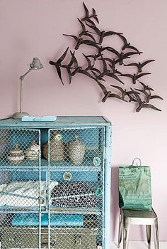 I want that cabinet for my office! great storage~