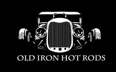 Logo for Old Iron Hot Rods Inc. Brooksville, FloridaShop Logo for Old Iron Hot Rods Inc. Rat Fink, Classic Hot Rod, Classic Cars, Vintage Cars, Antique Cars, Old Hot Rods, Totenkopf Tattoos, Motorcycle Shop, Garage Art
