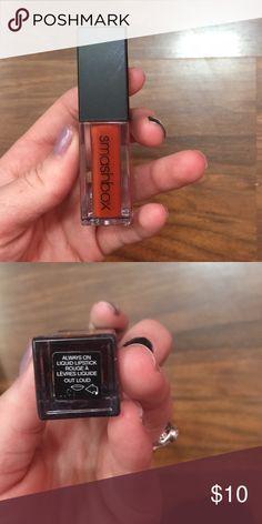 Smash box liquid lips , shade out loud Brand new used twice Smashbox Makeup Lipstick