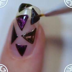 TOP 5 New Nail Art Design ❤️💅 Compilation - Nails Art Ideas Compilation Nail Art Designs, New Nail Art Design, Nails Design, Cute Nails, Pretty Nails, Diy Nails Stickers, Nail Art Videos, Nail Decorations, Christmas Nail Art