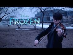 """""""Let It Go"""" violin cover by Jun Sung Ahn   This was the most beautiful thing I've heard all day. I hope someday I can be half as good as this guy. 100% must watch!!!!"""