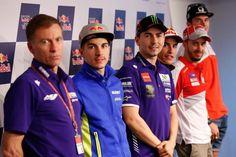 MotoGP | Conferencia de Prensa  Presentado el Gran Premio de España  Los protagonistas del Mundial, Marc Márquez (Repsol Honda Team), Jorge Lorenzo (Movistar Yamaha MotoGP), Andrea Dovizioso (Ducati Team), Maverick Viñales (Team Suzuki Ecstar) y Scott Redding (Octo Pramac Yakhnich), se presentaron hoy en la clásica conferencia de prensa del día jueves, acompañados por Lin Jarvis. (Movistar Yamaha MotoGP)  Declaraciones:  Marc Márquez: Es la primera carrera en Europa y