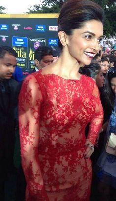 Deepika padukone at the IIFA Awards 2