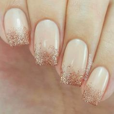 21 Best Ideas How to do Ombre Nails Designs + Tutorials ❤ Glitter Ombre Gel Nails picture 3 ❤ There is no need to wonder how to do ombre nails anymore! We know everything about the best and the easiest techniques of ombre, which you can easily replicate at home.https://naildesignsjournal.com/how-to-do-ombre-nails/ #naildesignsjournal #nails #ombrenails