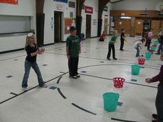 Carly's PE Games - Lots of videos with instructions for integrating academic concepts into PE games.