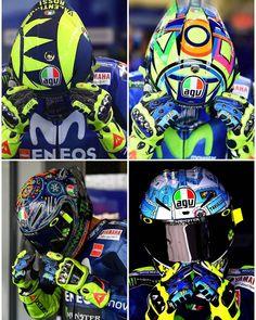#TBT #Helmet #RITUAL #ValentinoRossi #Agv #agvhelmets #agvrider