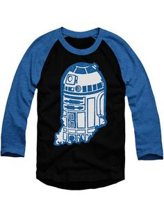 Indy Droid Baseball T