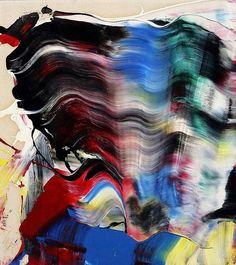 Action painting - Gutai Group Kazuo Shiraga