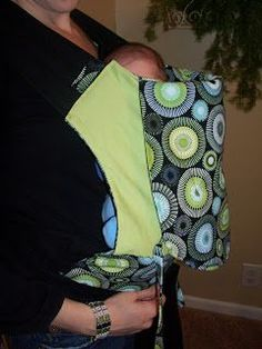This is the baby carrier tutorial I have been looking for! Yay!!