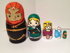 Legend of zelda Russian nesting dolls
