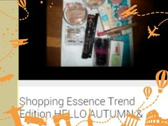 Shopping Essence Trend Edition HELLO AUTUMN & C.: https://youtu.be/UiwLwLMT8Og   #makeup #instamakeup #cosmetic #cosmetics  #fashion  #beauty