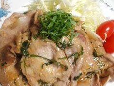 ご飯に合う!豚肉のシソ味噌焼き☆の画像