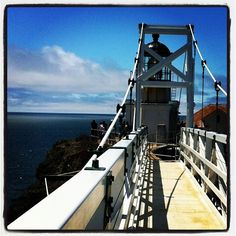 Look at that blue! Point Bonita lighthouse and bridge.