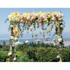 Floral Trellises or Huppahs