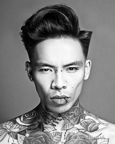 Kevin Luchmun - 2013 Men's Hairdresser of the Year Winner Collection - HJI Cool Haircuts, Haircuts For Men, Cool Hairstyles, Mens Hairdresser, Roman Hair, Hair And Beard Styles, Hair Styles, Toni And Guy, Asymmetrical Hairstyles