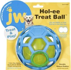 ## JW Pet Company Hol-ee Treat Ball for Dogs by fblead