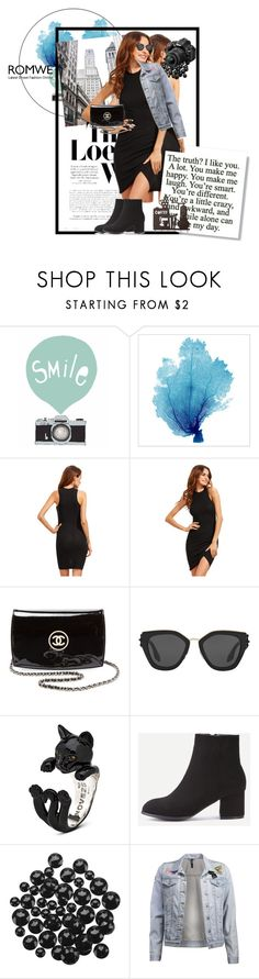 """Untitled #828"" by annaruto ❤ liked on Polyvore featuring Loewe, Chanel, Prada, Nikon and blackdress"