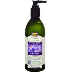 Avalon Organics Hand and Body Lotion Lavender - 12 fl oz
