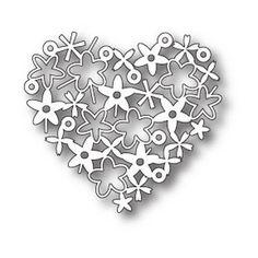Die Memory Box - Floral Heart