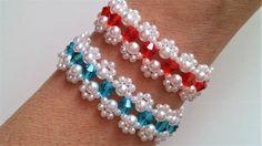 Mother's Day bracelet making . Beginners jewelry pattern