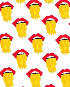 Drooling Fries.