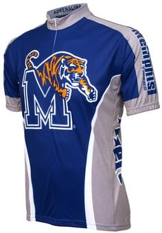 Buy University Of Memphis Tigers Cycling Short Sleeve Jersey Top Deals from  Reliable University Of Memphis Tigers Cycling Short Sleeve Jersey Top Deals  ... 3130e2c4d