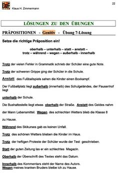 Deutsch als Fremdsprache DaF DaZ Grammatik - Konjunktionen   deutch ...
