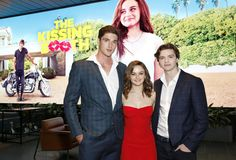Joel Courtney Photos - Jacob Elordi, Joey King and Joel Courtney attend a screening of 'The Kissing Booth' at NETFLIX on May 2018 in Los Angeles, California. - 'The Kissing Booth' Special Screening Hits Movie, It Movie Cast, High School Musical, Pirate Movies, Tv Show Casting, Joey King, Movies Coming Out, Kissing Booth, English Movies
