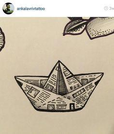 Paper ship flash