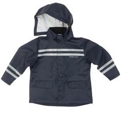 POLARN O. PYRET FIREMAN RAINCOAT (2-6YRS) - 4-6 years/Dark Sapphire. Waterproof Rain Jacket. Detachable Hood. Pair with our waterproof rain pants and rain mittens. Reflectors for better visibility. Machine washable.