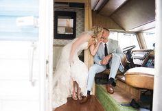 Retro camper. Barn wedding in southwest Michigan. Chicago brides dream. Vintage bride. Detroit brides only 2 hours