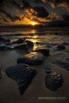 Lydgate State Park Sunrise, Kauai   - Explore the World with Travel Nerd Nici, one Country at a Time. http://TravelNerdNici.com