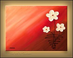 Original Abstract Art Painting - For My Bundle of Joy - Paintings for Sale - Abstract Art Gallery - Flowers Acrylic Painting Trees, Canvas Painting Designs, Flower Painting Canvas, Art Painting Gallery, Abstract Paintings, Abstract Art, Easy Canvas Art, Small Canvas Art, Oversized Canvas Art
