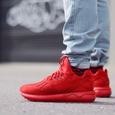 adidas originals tubular red
