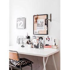•• • i n s p i r a ç ão ⭐️ ahhh, como a gente adora um homeOffice! • #apto41inspira #homedecor #decor #home #decoracao #decoração #interiorstyle #interior #apto41office #office #homeoffice