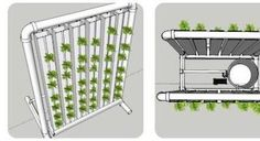 Raspberry Pi & Arduino are the brains of this automated DIY vertical hydroponic garden #hydroponicgardens