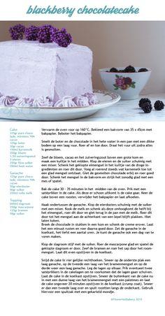 Blackberry chocolatecake | Bramen-chocoladecake