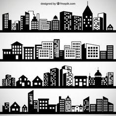 gotham city skyline clip art google search die cutting