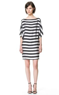 STRIPED DRESS - Dresses - Woman - ZARA United States