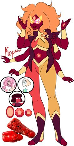 Steven Universe Fan fusion: Coral by on DeviantArt Steven Universe Fan Fusions, Steven Universe Theories, Steven Universe Diamond, Steven Universe Comic, Universe Art, Gem Fusions, Fusion Art, Baba Yaga, A Cartoon