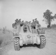 BRITISH ARMY ITALY 1944 (NA 15052) A Priest 105mm self-propelled gun of 12th Royal Horse Artillery (Honourable Artillery Company), 6th Armoured Division, 17 May 1944.
